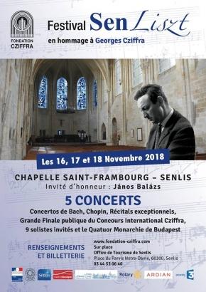 Festival Senliszt du 16 au 18 novembre 2018