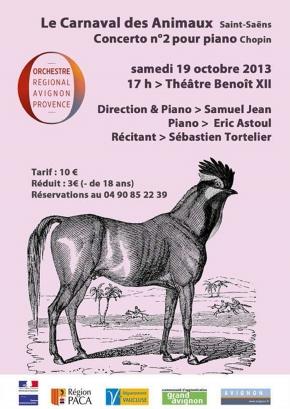 Avec l'Orchestre Lyrique d'Avignon-Provence,Théâtre Benoît XII