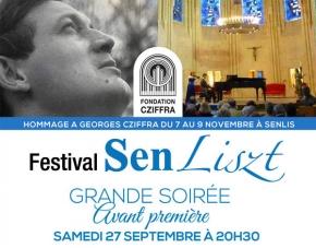 GRANDE SOIRÉE Avant première du Festival Senliszt , Chapelle royale Saint-Frambourg à Senlis (Oise)