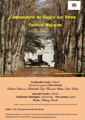 Première édition du Festival Mélusine