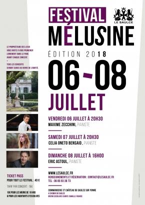Festival Mélusine, édition 2018