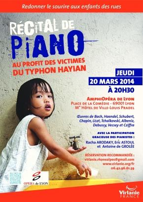 Soirée caritative pour les Philippines, Opéra de Lyon, amphithéâtre