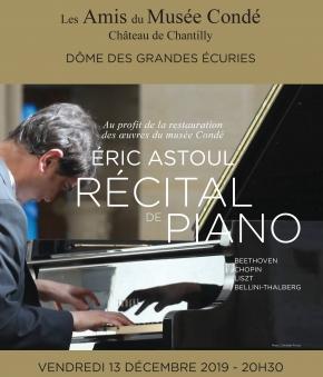 Récital de piano sous le Dôme des Grandes Écuries-Château de Chantilly